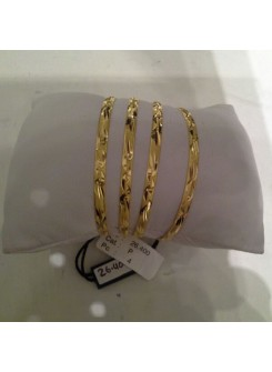 Gold Bangle set MM01