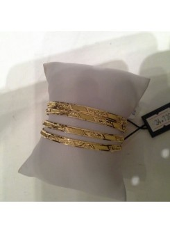 Gold Bangle Set MM03