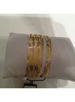 Gold Bangle Set MM09