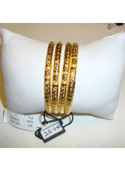 Gold Bangle Set (Saudi)