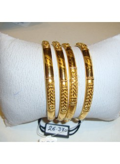Gold Bangle Set MM07
