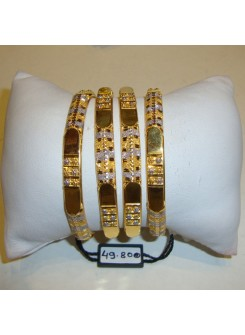 Gold Bangle Set MM10