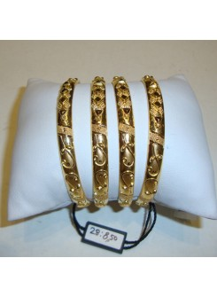 Gold Bangle Set MM08