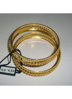 Gold Bangle Set M08