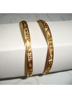 Gold Bangle Set MMA